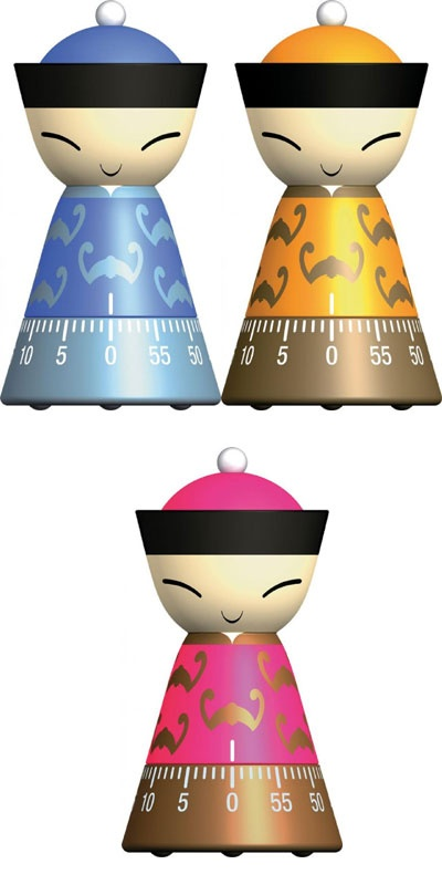Alessi   Mr. Chin, Kitchen Timer