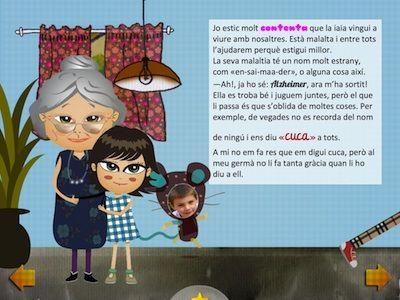La iaia es perd. App's per a nens. #sortirambnens