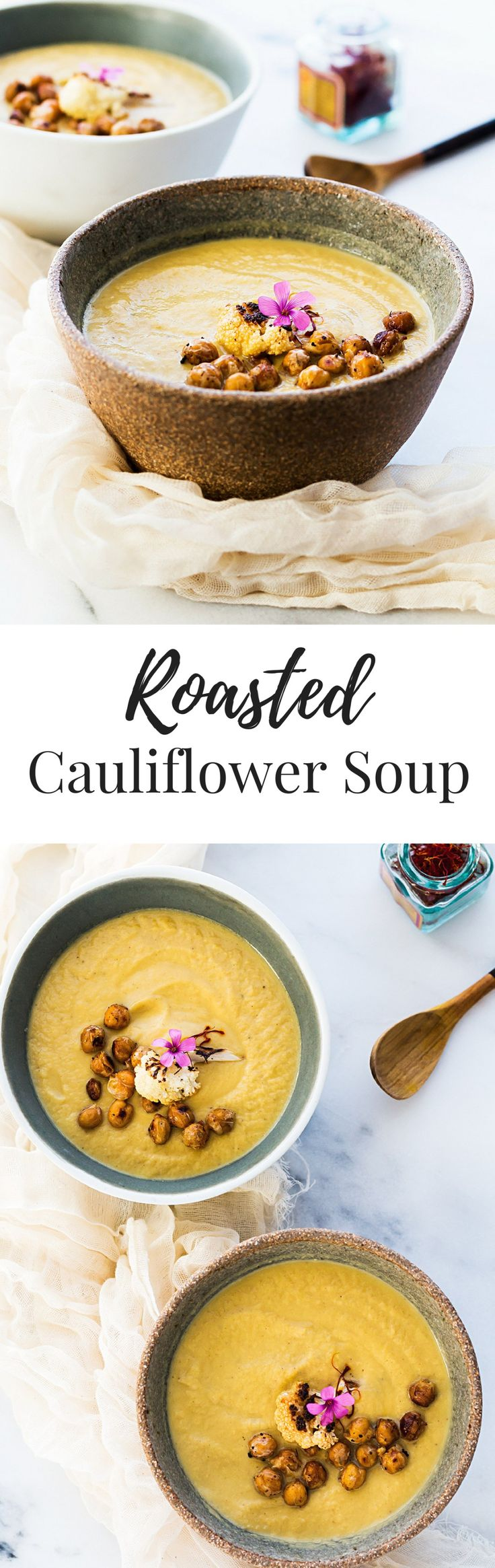 soup cauliflower soup cream of cauliflower soup with saffron ...