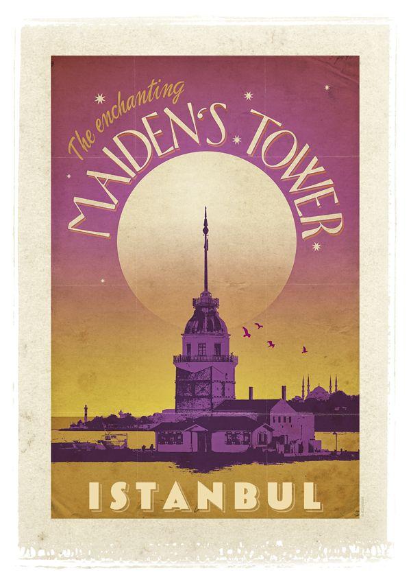 """Kız Kulesi - İstanbul - """"Boğaz'dan geçen gemilere engel olmasın diye, İstanbul'un saçlarını toplayan beyaz bir tokadır Kız Kulesi. Açmak isteyen şarapçılar Salacak'tan uzanayım derken düşerler denize."""" Ne güzel anlatmış değil mi Sunay Akın... İşte böylesine hayranlık uyandırır, uğruna şiirler yazdırır Üsküdar'a tatlı tatlı gülümseyen Kız Kulesi..."""