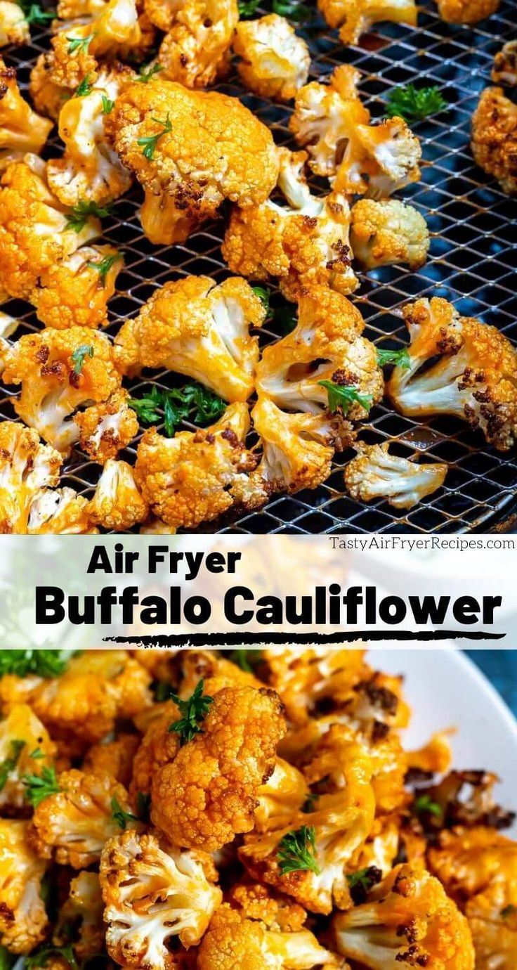 Air Fryer Buffalo Cauliflower Bites Recipe in 2020 (With