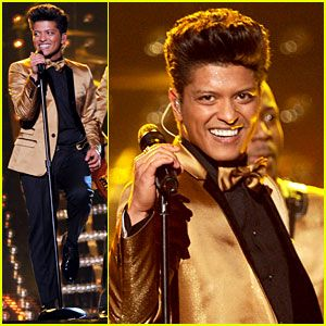 The 2012 Bruno Mars Grammy performance. Best entertainer I've seen in a LOOOOONG time.