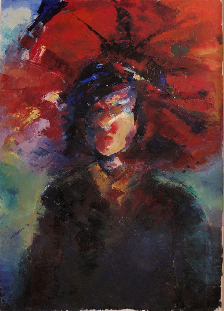 woman with umbrella ( Efi Katsoni 2012)