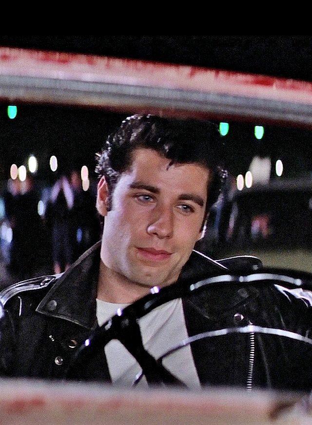 John Travolta in 'Grease', 1978.