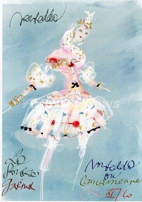 ラクロワのバレエ・コスチューム展、ムーランで開催