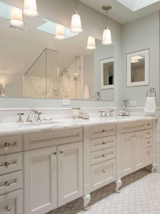 Bathroom Vanity Lights Flickering : Best 25+ Large frameless mirrors ideas on Pinterest Floating bathroom vanities, Modern marble ...