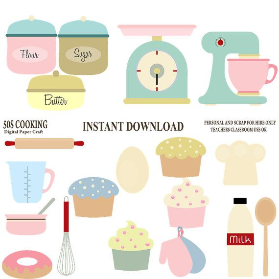 50's Cooking Clipart / 1950's Cooking Clip by DigitalPaperCraft, $5.00 https://www.etsy.com/listing/197695762/50s-cooking-clipart-1950s-cooking-clip?ref=sr_gallery_16&ga_order=date_desc&ga_view_type=gallery&ga_ref=fp_recent_more&ga_page=15&ga_search_type=all