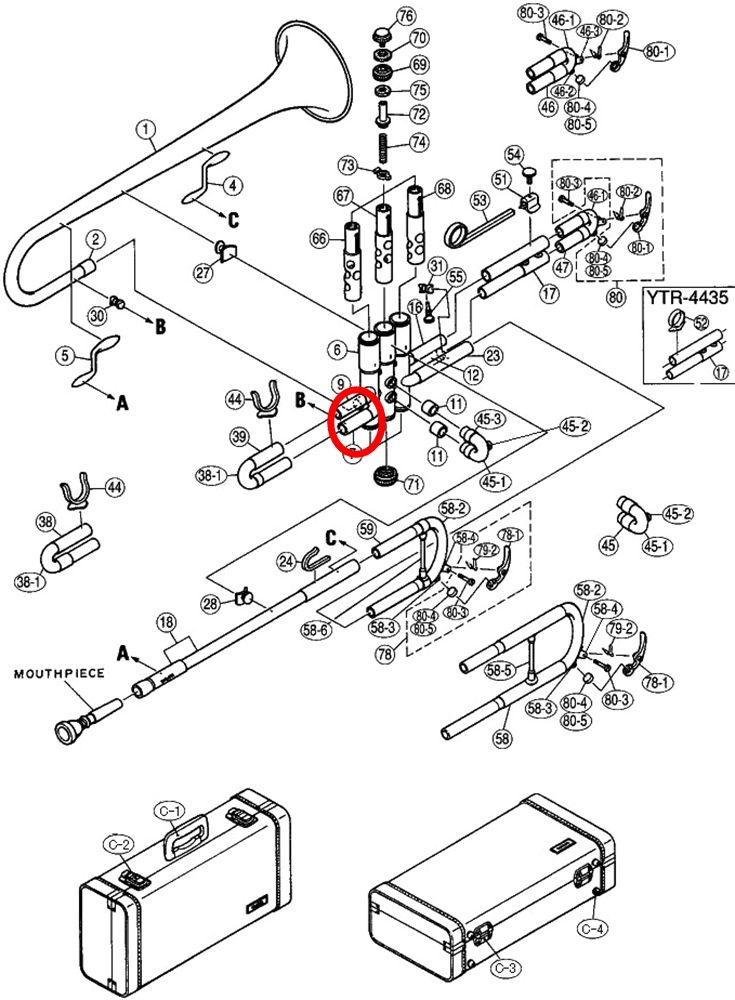 Image Result For Trumpet Parts Diagram Trumpet Parts Diagram Trumpet