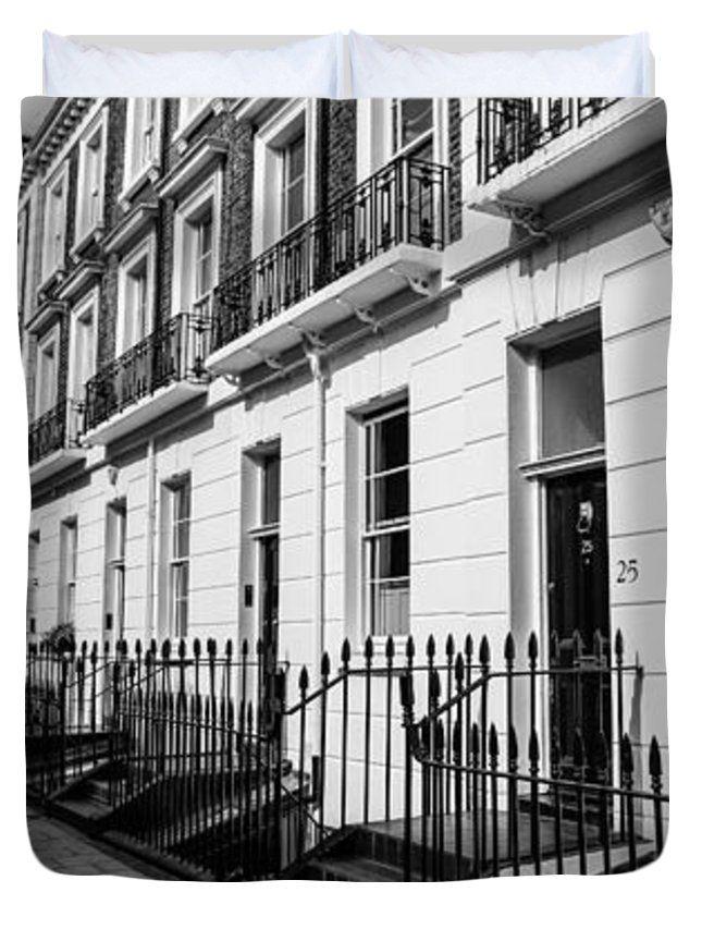 "London Terraced Houses 2 Queen (88"" x 88"") Duvet Cover"