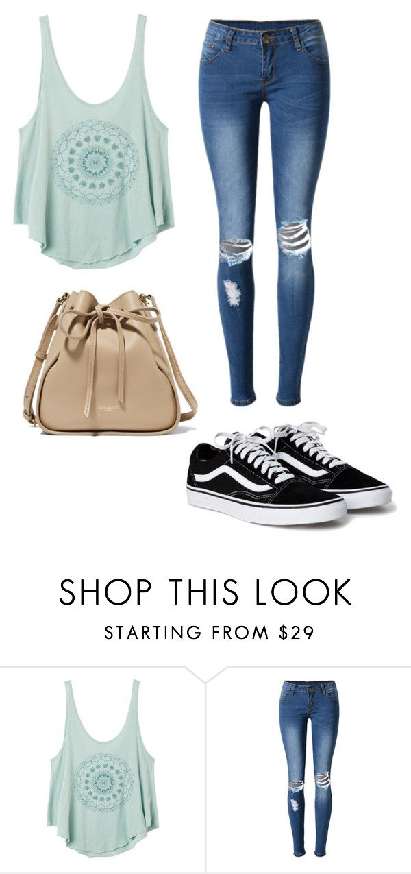 """""""Look Casual #1"""" by quelstylist on Polyvore featuring moda, RVCA, WithChic e Nina Ricci"""