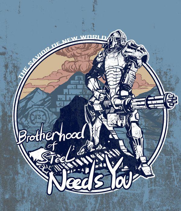 brotherhood of steel needs you by breathing2004.deviantart.com on @deviantART