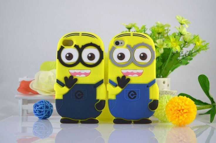 >> Click to Buy << For Apple Iphone 4 4S Case Cute Cartoon 3D Model Despicable Me Yellow Minion Silicon Cover The Minions Cover Cases For Iphone4s #Affiliate