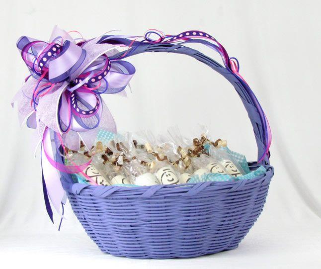 Best 25 canastas decoradas bebe ideas on pinterest - Canastas de mimbre decoradas ...