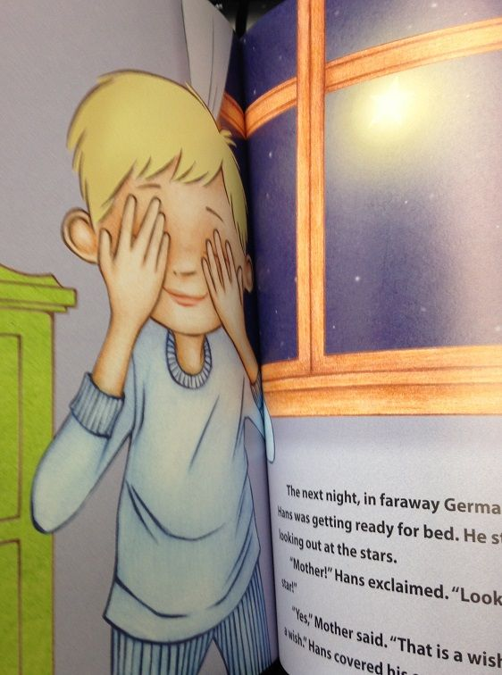 In Star Wishes by Marjean Cox, see three young boys--one in the U.S., one in Japan, and one in Germany--as they prepare for bedtime. See how connected they really are, and that despite great geographic and cultural distances, their dreams and their aspirations are what bind them together. Here is a Goodnight Moon for a new generation, one keenly aware of how intertwined we all are, how small the world is becoming. All it takes is just one star, and just one wish.