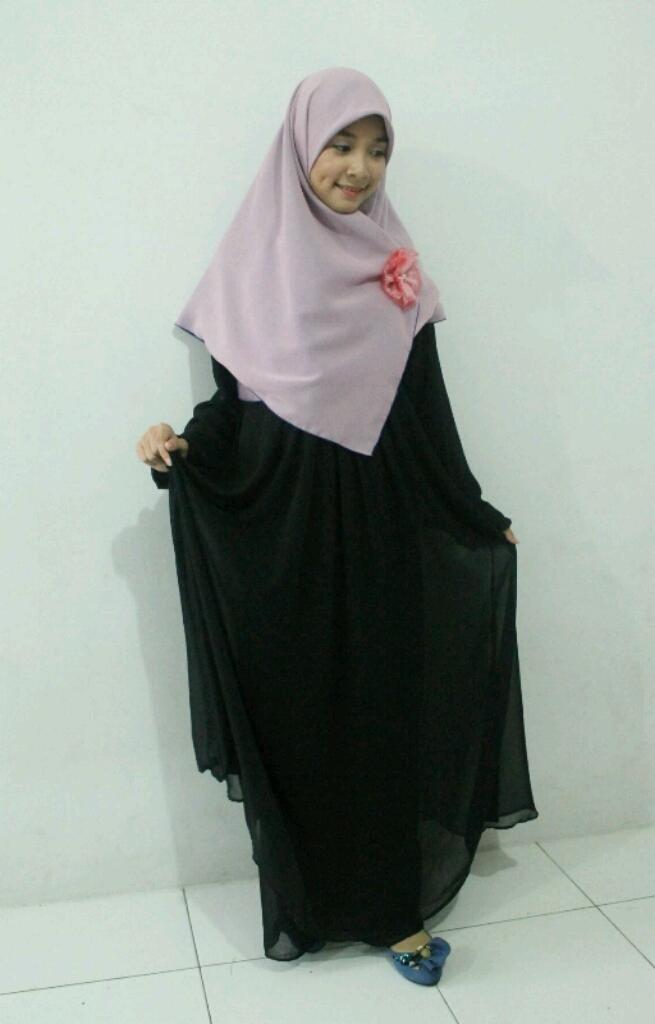 True Hijab | Syar'i | khimar + jilbab by @hijabalila