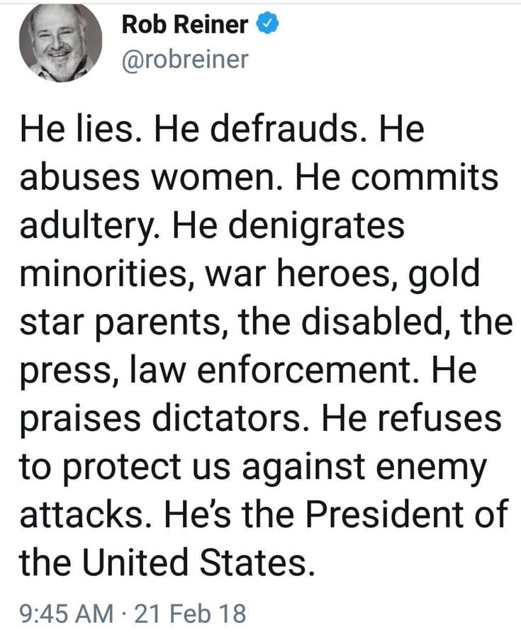 & we are ASHAMED OF HIM & HIS FAMILY.  Vote Democrats & DEMOCRACY back to our beloved USA 2018 & 2020