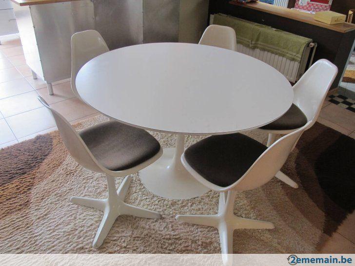Arkana eetkamerset tulpvoet tafel (saarinen) - A vendre