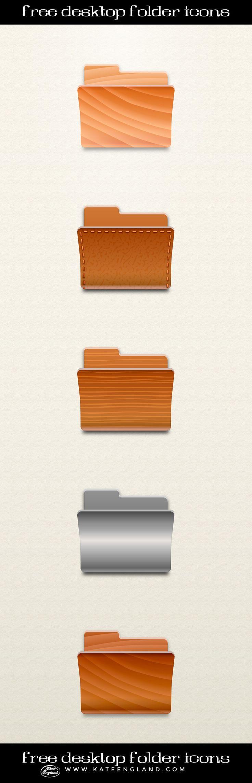 Free Desktop Folder Icons. #icons #folders #free