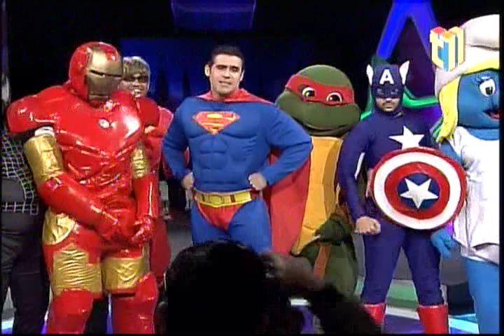 "Milagros Germán Presenta Parodia: ""Batman Vs Superman"" En Chévere Nights"