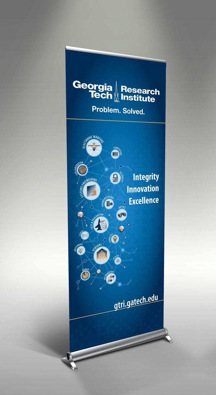 GTRI pull-up banner design by Inward. | Pull-Up Banners ...
