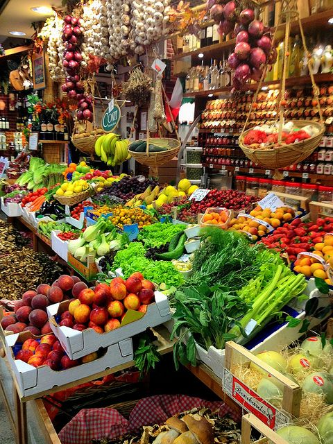 Mercato Centrale - Florence, Italy