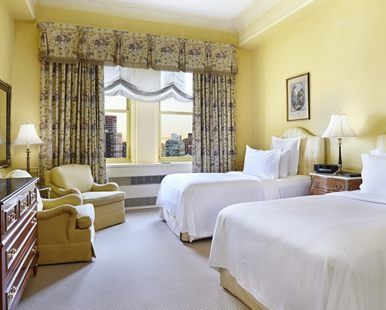 Waldorf Astoria® New York Hotel, NY - One Bedroom Suite - Two Double Beds | NY 10022