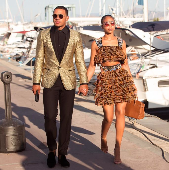 Flyest Couple Around - 15 Sweet Photos Of Steve Harvey's Stepdaughter Lori Harvey And Her Fiancé Memphis Depay