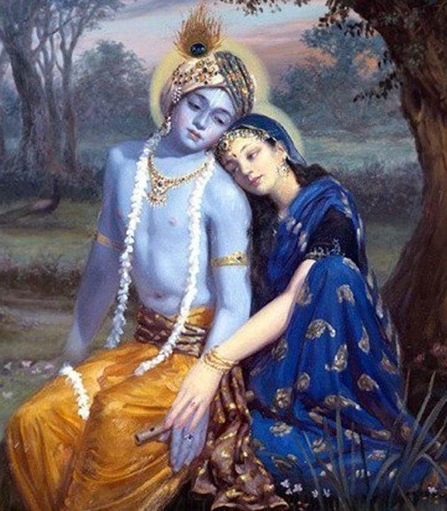 .Radha & Krishna.