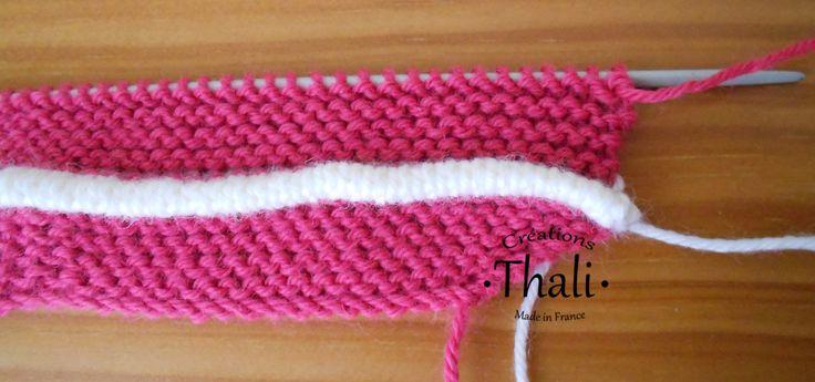 Bourrelet au tricot