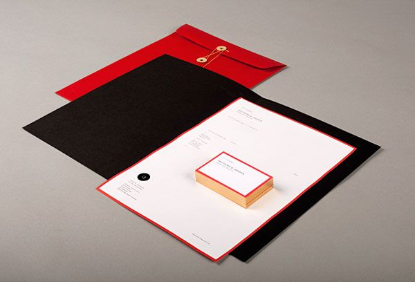 Deutsche & Japaner - studio corporate identity and stationery design.