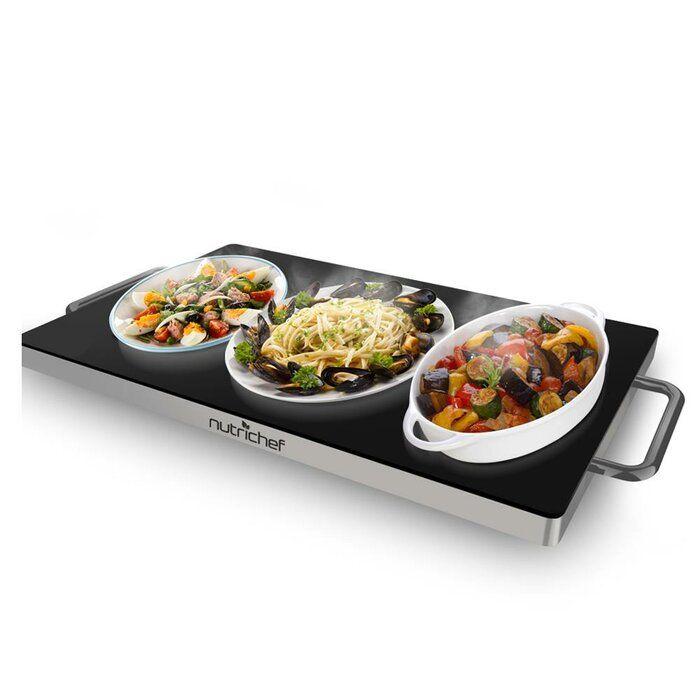 Electric Warming Tray In 2020 Keep Food Warm Dish Warmer Food Warmers