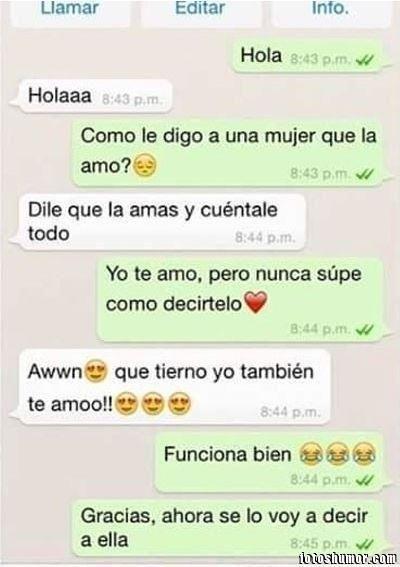 Recopilación de las conversaciones más graciosas en WhatsApp - Taringa!