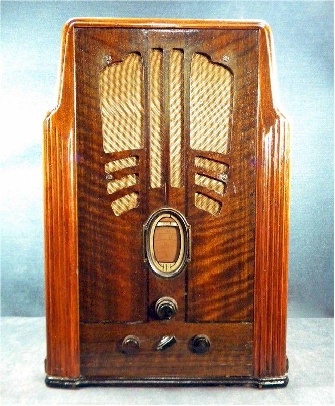Philco 116B Tombstone (1934) | Radio's | Pinterest