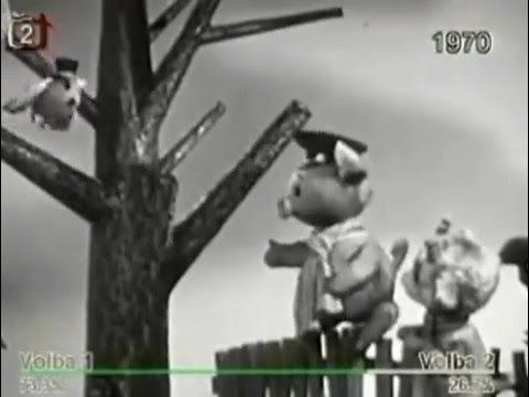 o vepriku a kuzleti 02 jak se ucil veprik letat animovany  70' CZ romin