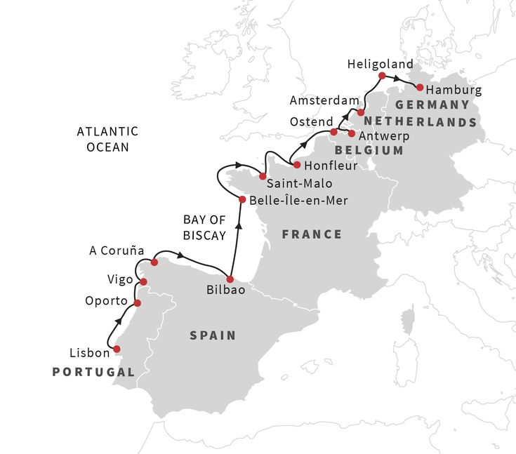 Cruise the European Coast: From Lisbon to Hamburg - May 2019   Hurtigruten US