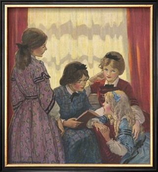 Little Women by Deanna McFadden Pinterest I ve read this novel many times before but probably not within the last  five years  I ve become far more sentimental in the last couple years so I  kind of