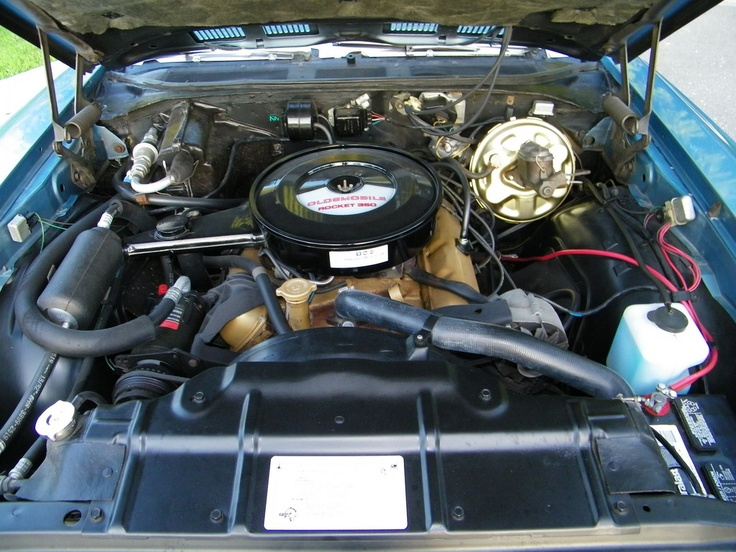 Wiring Diagram For A 1968 Ford Mustang 350 Motor Oldsmobile Cutlass Muscle Cars Oldsmobile