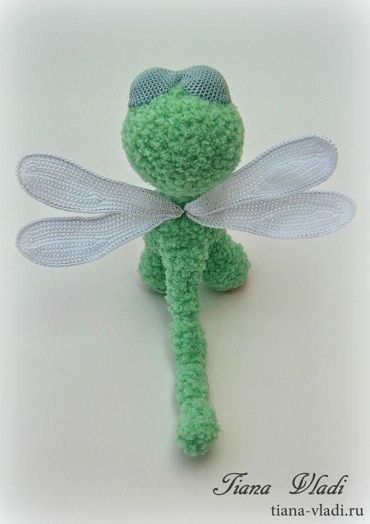 Amigurumi Dragonfly : Images about amigurumi butterflies dragonflies on