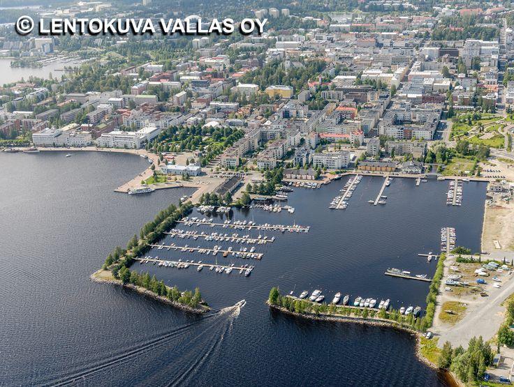 Maljalahden venesatama Ilmakuva: Lentokuva Vallas Oy
