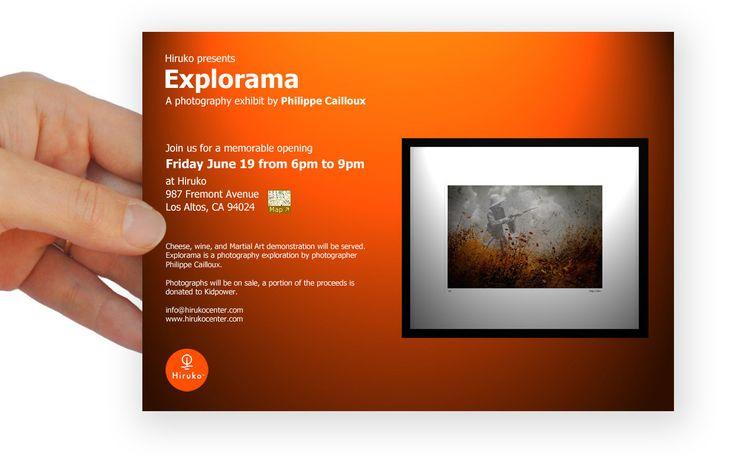 Postcard invite illgander art show pinterest stopboris Gallery