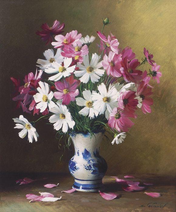 Цветы букеты в вазе