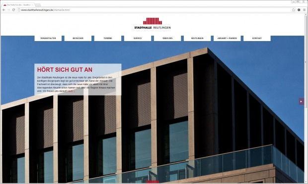 Branding/Identity for the Stadthalle Reutlingen | InspireFirst