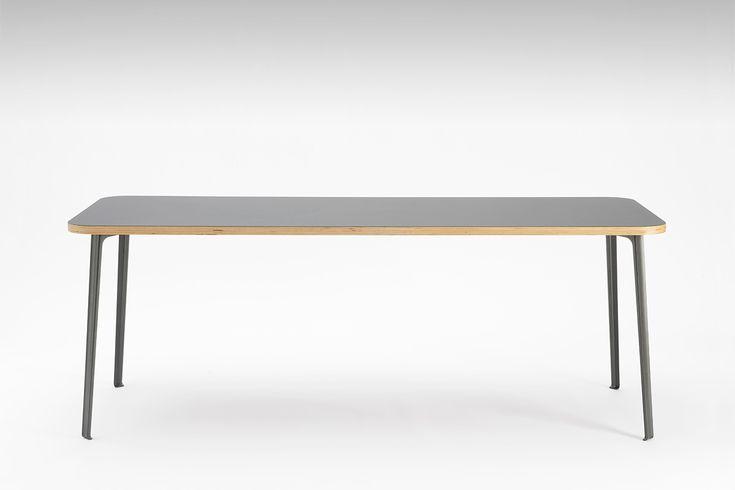 Linoleum Tischplatte Basic   Tischplatten Basic   Faust Linoleum - Online Shop – für Linoleum Tischplatten zum Eiermann Tischgestell passend – Preiswert und nach Maß – E2 Tisch, Sinus Tischbock, Magnetpinwand, Desktop Linoleum