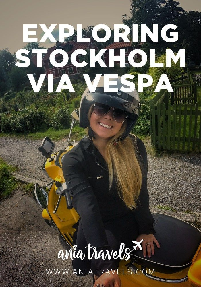 With so much to do/see in Stockholm, one can get overwhelmed. That's why I chose Vespa Stockholm for the fastest & most efficient way to sightsee this city.
