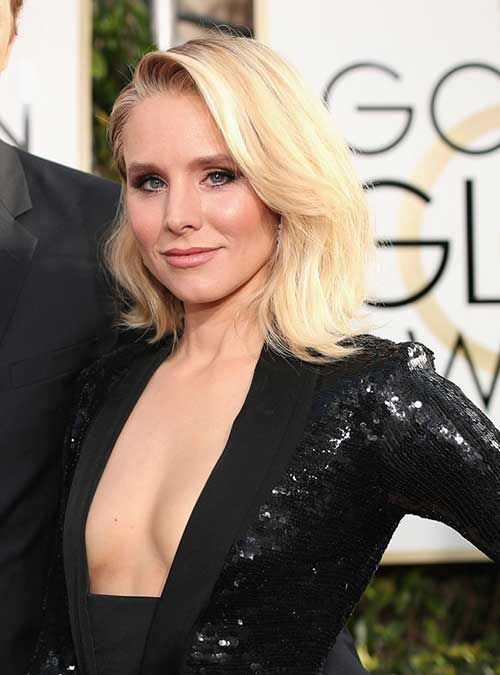 Celebs with Short Hair at the Golden Globes 2017: #15. Kristen Bell