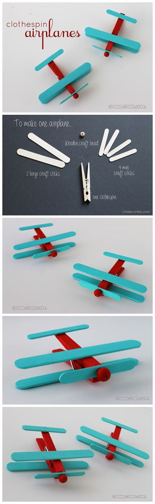 DIY Easy Airplanes | DIY & Crafts Tutorials                                                                                                                                                      More