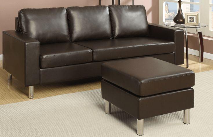 Farnham Sectional Sofa in Espresso