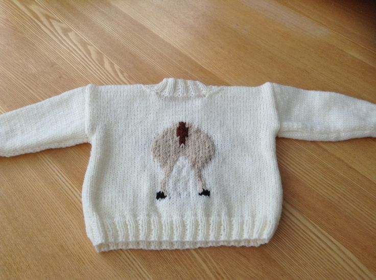 Christmas jumper for Isla (back)