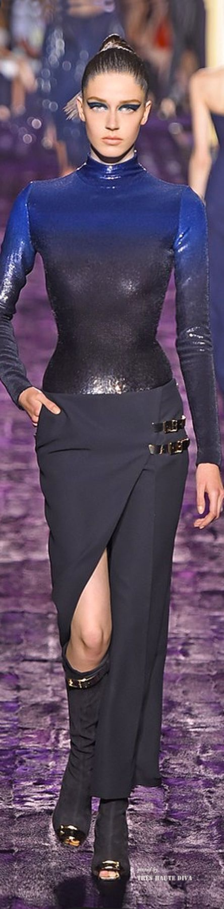 Atelier Versace Fall 2014 Couture ♔ Haute Couture Week Paris ==== love this skirt