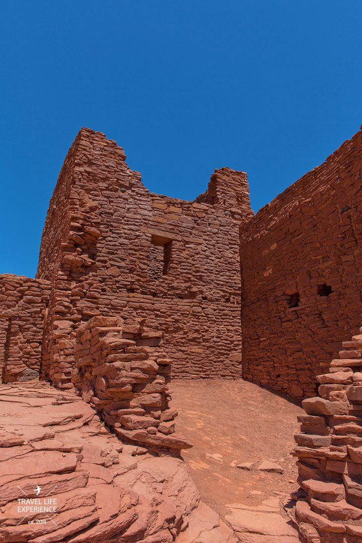Wupatki Wukoki Anasazi Ruina Arizona